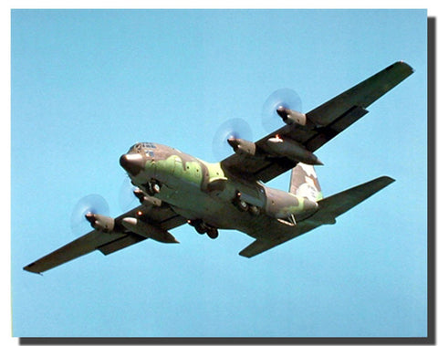 C-130 Cargo Fighter Jet Military Planes Poster