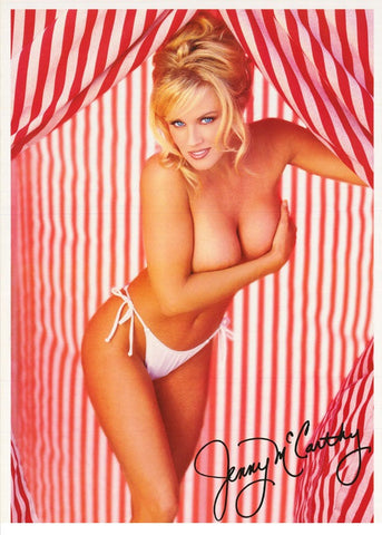 Jenny McCarthy Candy Cane Color  Rare Poster