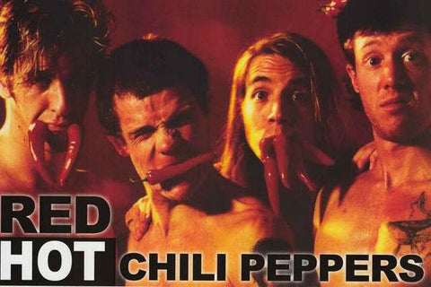 Red Hot Chili Peppers Original Lineup Rare  Poster