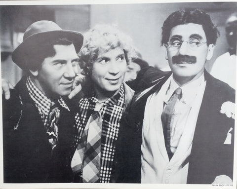 The Marx Brothers Side By Side Vintage Poster
