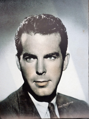 Fred MacMurray Sepia 6x8 Photographic Print