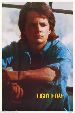 Michael J. Fox Light Of Day Rare Vintage Poster