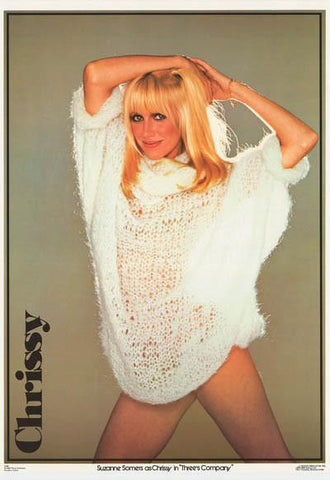Suzanne Sommers 1980 Rare Vintage Poster