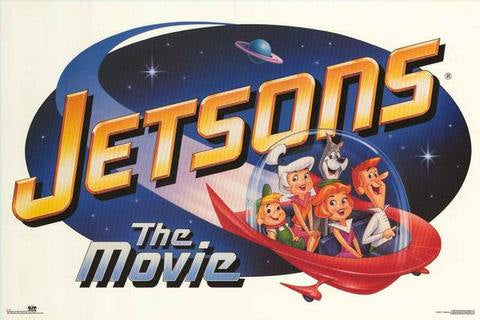 The Jetsons Movie 1990 Rare Vintage Poster