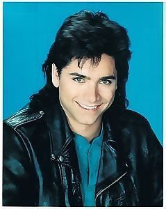 John Stamos Close Up Full House Color   8x10 Photograph