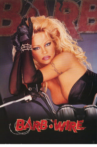 Pamela Anderson  Barb Wire  Rare Vintage Poster