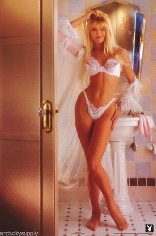 Playboy Model I Love You 1991 Rare Poster