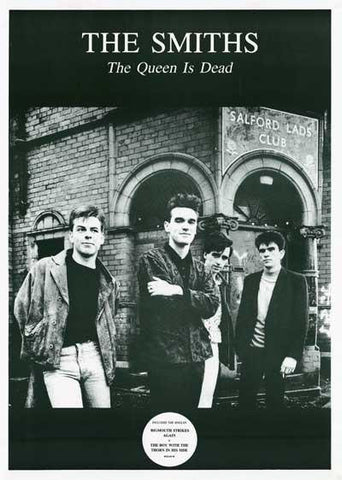 The Smiths The Queen Is Dead 1986  Rare  Poster