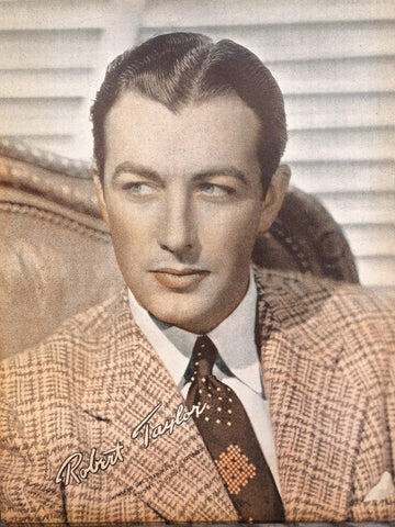 Robert Taylor Vintage Sepia 6x8 Photographic Print