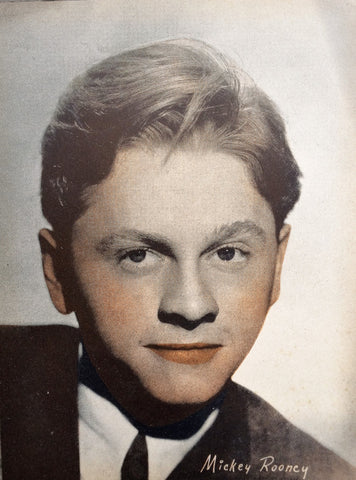Mickey Rooney Vintage Sepia 6x8 Photographic Print