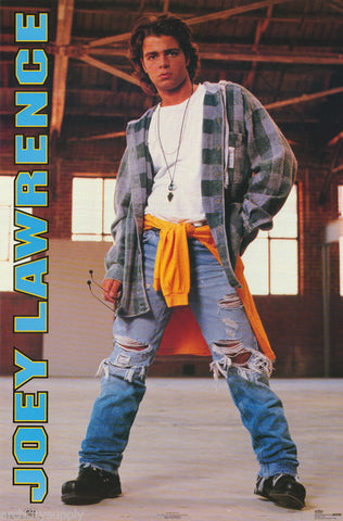 Joey Lawrence Rare Vintage Poster