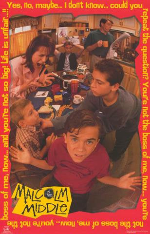 Malcolm In The Middle Rare Vintage Poster