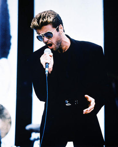 George Michael In Concert Rare 8x10 Photograph