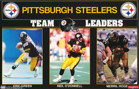 Pittsburgh Steelers Team Leaders 1992  Poster