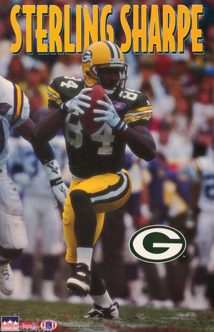 Sterling Sharpe Green Bay Packers 1994 Poster