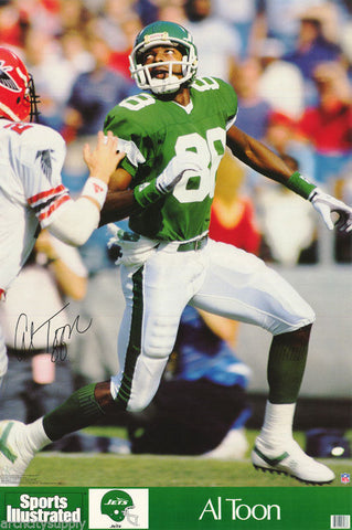 Al Toon New York Jets 1989 Poster