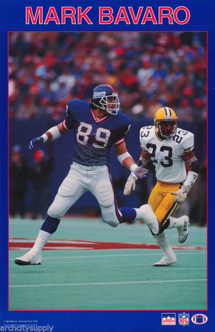 Mark Bavaro New York Giants 1988 Poster