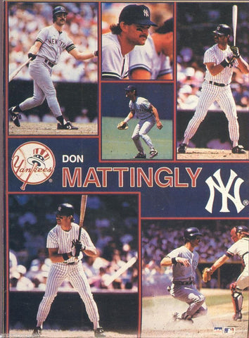 "Don Mattingly New York Yankees Giant Poster 42"" X 58"""