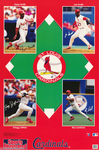 St. Louis Cardinals Collage 1993  Poster