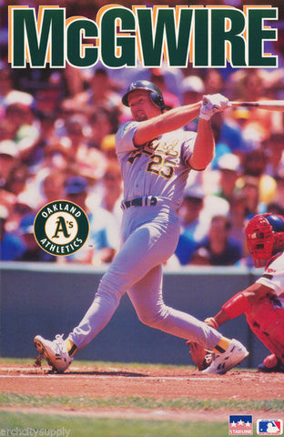 Mark McGwire Oakland Athletics 1993  Poster