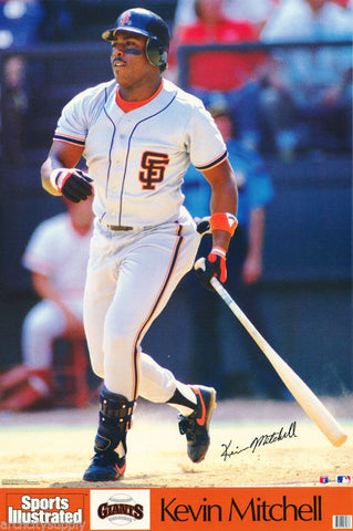 Kevin Mitchell San Francisco Giants  1992  Poster