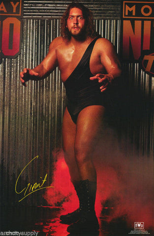 Wrestling WCW The Giant  Poster