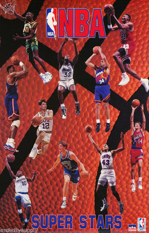 NBA Superstars 1993  Poster