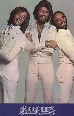 The Bee Gees  Rare Poster