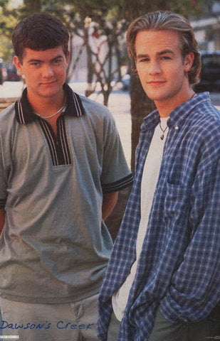 Dawsons Creek Dawson and Pacey Rare Vintage Poster