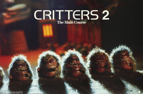 Critters 2  1988 Rare Vintage Poster