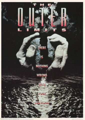 Outer Limits 1996   Rare Vintage Poster