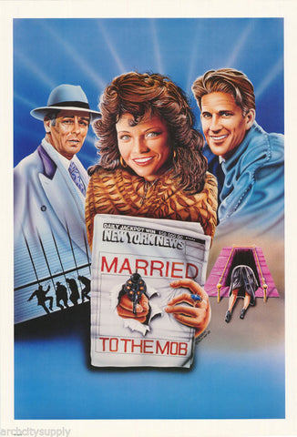 Marries To The Mob  Rare Vintage Poster