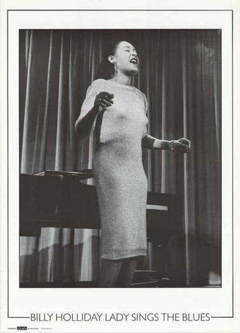 Billie Holiday Lady Sings The Blues Rare Poster
