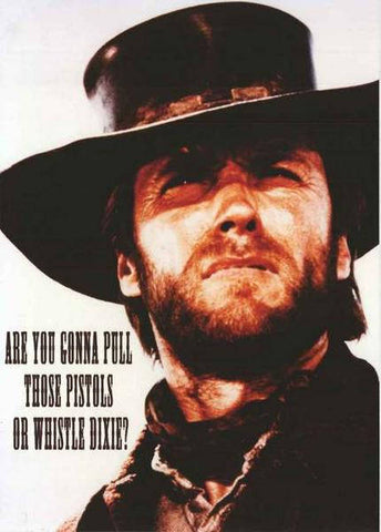 Clint Eastwood The Outlaw Josey Wales  Rare Vintage Poster