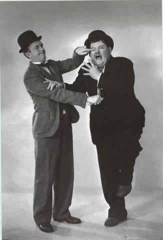 Laurel and Hardy  Rare Vintage Poster