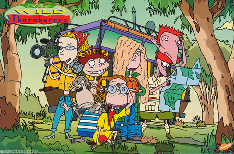 The Wild Thornberrys  Rare Vintage Poster