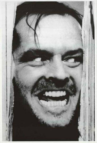 The Shining Jack Nicholson Rare Vintage Poster