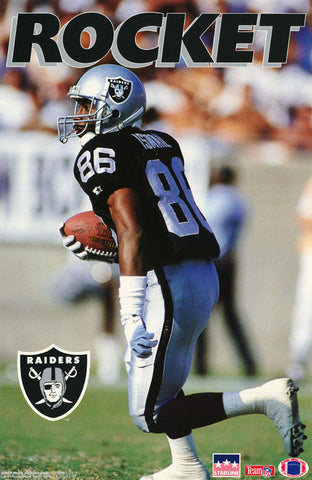 Rocket Ismail Oakland Raiders 1994 Poster