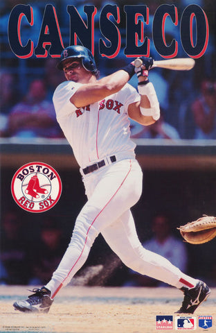 Ozzy Canseco Boston Red Sox 1995  Poster