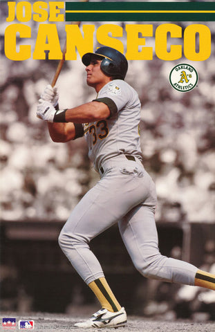 Jose Canseco Oakland Athletics 1991 Poster