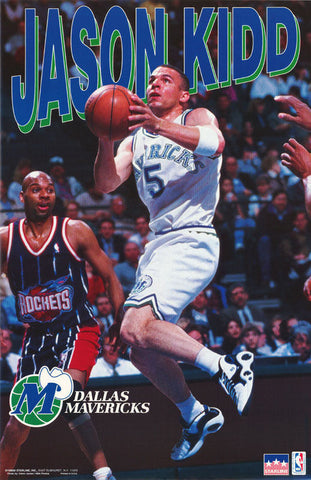 Jason Kidd Dallas Mavericks 1996 Poster