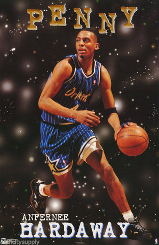 competitive price 111b1 16650 Anfernee Penny Hardaway Orlando Magic 1997 Poster