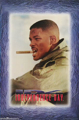 Independence Day Will Smith 1996 Rare Vintage Poster