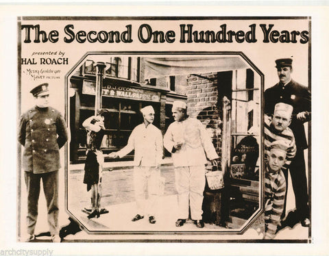 Laurel and Hardy The Second One Hundred Years Rare Vintage Poster