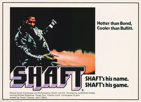 Shaft Richard Roundtree  Rare Vintage Poster