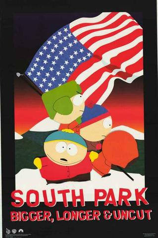 South Park Bigger Longer Uncut   Rare Vintage Poster