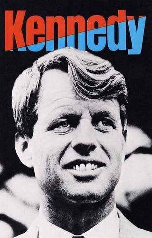 Robert F Kennedy RFK Campaign Rare Vintage Poster