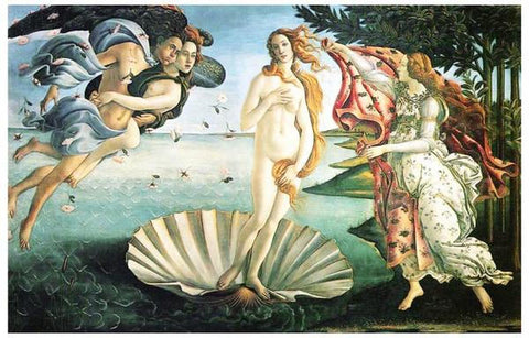 Sandro Botticelli Birth of Venus Art  Rare Vintage Poster
