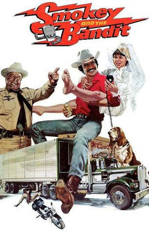Smokey and The Bandit Movie Burt Reynolds Sally Field  Rare Vintage Poster