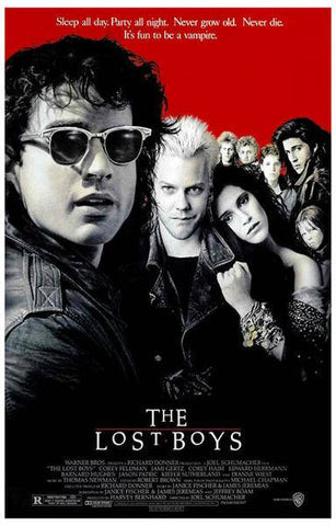 The Lost Boys Movie Rare Vintage Poster